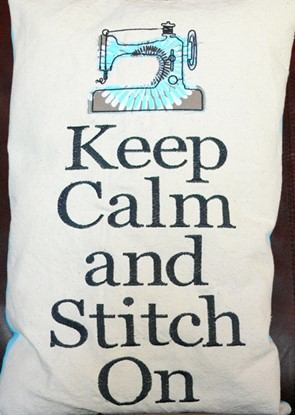 Picture of Keep Calm & Stitch On